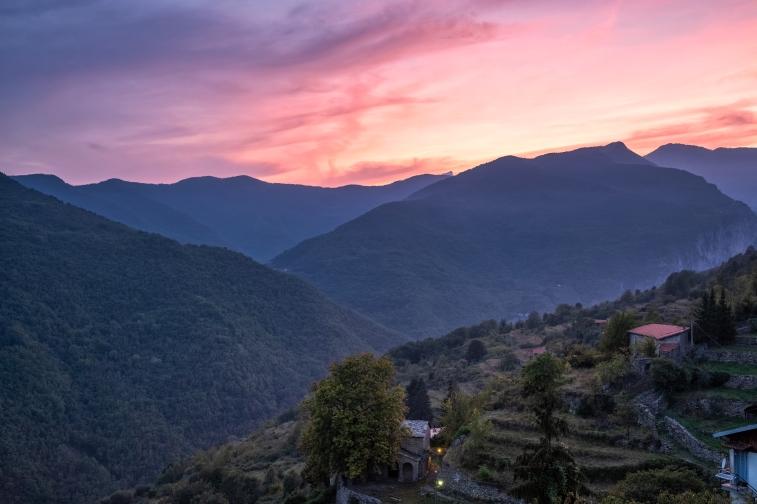 Sonnenuntergang im Nordwesten